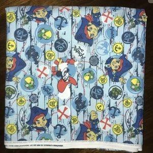 Disney Jake Pirate Treasure Quest Bubbles Fabric
